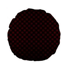 Pattern Standard 15  Premium Flano Round Cushions by ValentinaDesign