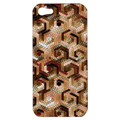 Pattern Factory 23 Brown Apple Iphone 5 Hardshell Case by MoreColorsinLife