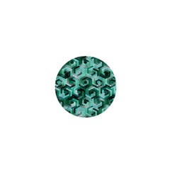 Pattern Factory 23 Teal 1  Mini Magnets by MoreColorsinLife