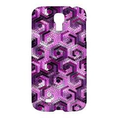Pattern Factory 23 Pink Samsung Galaxy S4 I9500/i9505 Hardshell Case by MoreColorsinLife
