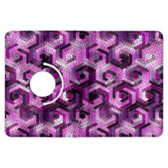 Pattern Factory 23 Pink Kindle Fire Hdx Flip 360 Case by MoreColorsinLife