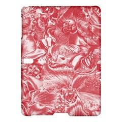 Shimmering Floral Damask Pink Samsung Galaxy Tab S (10 5 ) Hardshell Case  by MoreColorsinLife