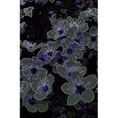 Glowing Flowers In The Dark B 5 5  X 8 5  Notebooks by MoreColorsinLife