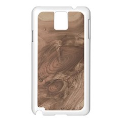 Fantastic Wood Grain Soft Samsung Galaxy Note 3 N9005 Case (white) by MoreColorsinLife