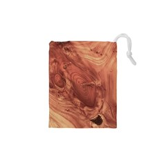 Fantastic Wood Grain,brown Drawstring Pouches (xs)  by MoreColorsinLife
