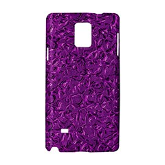 Sparkling Metal Art F Samsung Galaxy Note 4 Hardshell Case by MoreColorsinLife