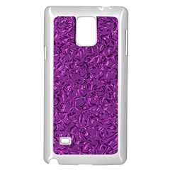Sparkling Metal Art F Samsung Galaxy Note 4 Case (white) by MoreColorsinLife