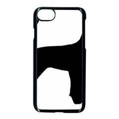 Black And Tan Coonhound Silo Black Apple Iphone 7 Seamless Case (black) by TailWags