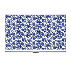 Roses Pattern Business Card Holders by Valentinaart