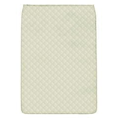 Rich Cream Stitched and Quilted Pattern Flap Covers (S)  by PodArtist