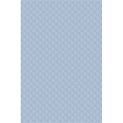 Powder Blue Stitched and Quilted Pattern 5.5  x 8.5  Notebooks by PodArtist