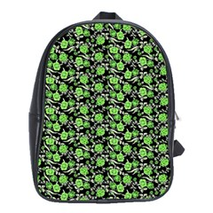 Roses Pattern School Bags (xl)  by Valentinaart