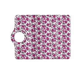 Roses Pattern Kindle Fire Hd (2013) Flip 360 Case by Valentinaart