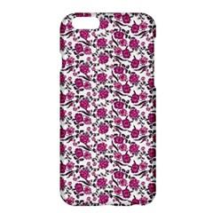 Roses Pattern Apple Iphone 6 Plus/6s Plus Hardshell Case by Valentinaart