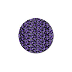 Roses Pattern Golf Ball Marker by Valentinaart
