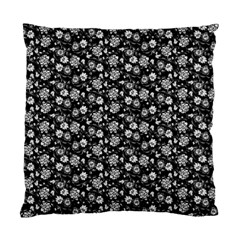 Roses Pattern Standard Cushion Case (two Sides) by Valentinaart