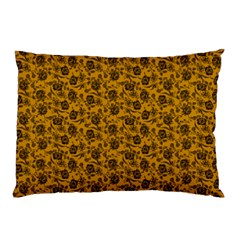 Roses Pattern Pillow Case by Valentinaart