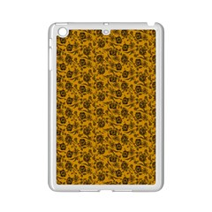 Roses pattern iPad Mini 2 Enamel Coated Cases by Valentinaart