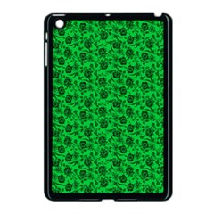 Roses Pattern Apple Ipad Mini Case (black) by Valentinaart