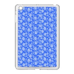 Roses Pattern Apple Ipad Mini Case (white) by Valentinaart