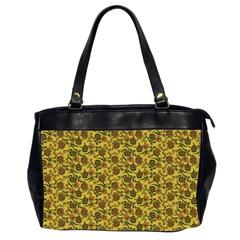 Roses Pattern Office Handbags (2 Sides)  by Valentinaart