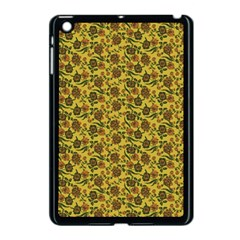 Roses Pattern Apple Ipad Mini Case (black) by Valentinaart