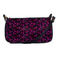 Roses Pattern Shoulder Clutch Bags by Valentinaart