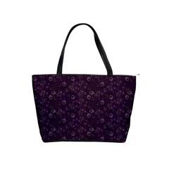 Roses Pattern Shoulder Handbags by Valentinaart