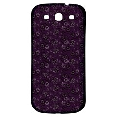 Roses Pattern Samsung Galaxy S3 S Iii Classic Hardshell Back Case by Valentinaart