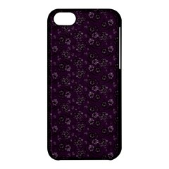 Roses Pattern Apple Iphone 5c Hardshell Case by Valentinaart