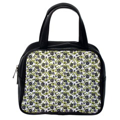 Roses Pattern Classic Handbags (one Side) by Valentinaart