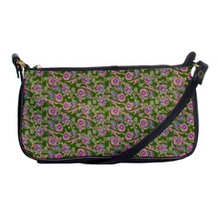 Roses Pattern Shoulder Clutch Bags by Valentinaart