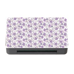 Roses Pattern Memory Card Reader With Cf by Valentinaart