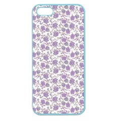 Roses Pattern Apple Seamless Iphone 5 Case (color) by Valentinaart