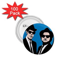 Blues Brothers  1 75  Buttons (100 Pack)  by Valentinaart