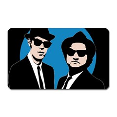 Blues Brothers  Magnet (rectangular) by Valentinaart