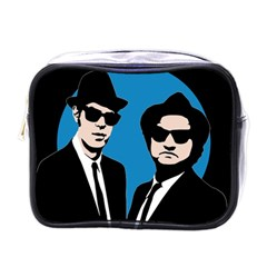 Blues Brothers  Mini Toiletries Bags by Valentinaart