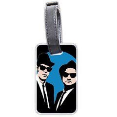 Blues Brothers  Luggage Tags (two Sides) by Valentinaart