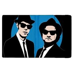Blues Brothers  Apple Ipad 3/4 Flip Case by Valentinaart
