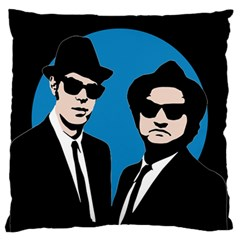 Blues Brothers  Standard Flano Cushion Case (two Sides) by Valentinaart