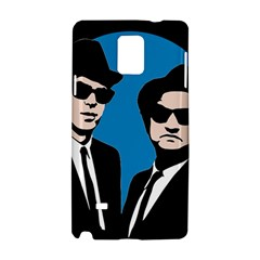 Blues Brothers  Samsung Galaxy Note 4 Hardshell Case by Valentinaart