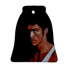 Bruce Lee Bell Ornament (two Sides) by Valentinaart