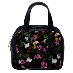 Tropical Pattern Classic Handbags (one Side) by Valentinaart