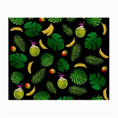 Tropical Pattern Small Glasses Cloth by Valentinaart