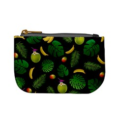 Tropical Pattern Mini Coin Purses by Valentinaart