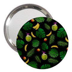 Tropical Pattern 3  Handbag Mirrors by Valentinaart