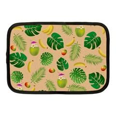 Tropical Pattern Netbook Case (medium)  by Valentinaart
