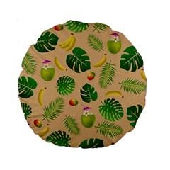 Tropical Pattern Standard 15  Premium Round Cushions by Valentinaart