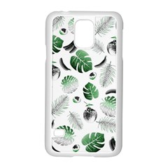 Tropical Pattern Samsung Galaxy S5 Case (white) by Valentinaart