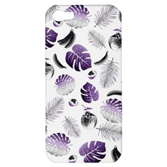 Tropical Pattern Apple Iphone 5 Hardshell Case by Valentinaart